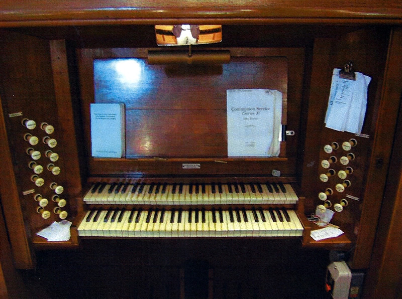 View from the Vicarage – Our Organist