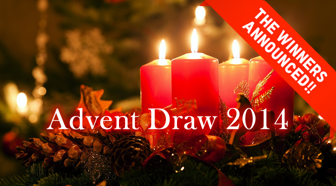 Advent Draw Winners of Prizes