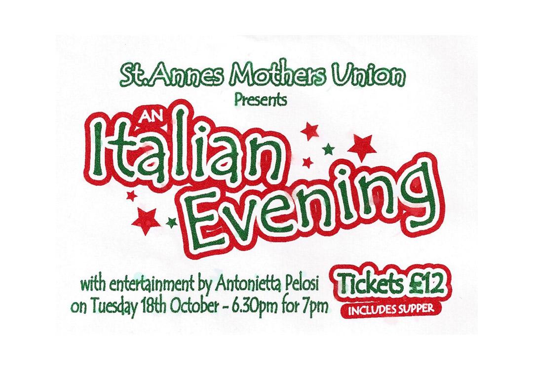 An Italian Evening