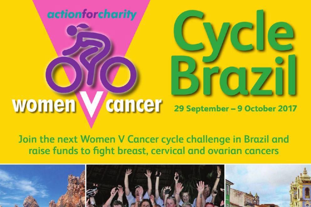Frances Branton Cycles Brazil!