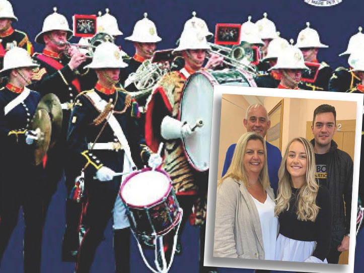 Sarah Brooks joins the Royal Marines School of Music